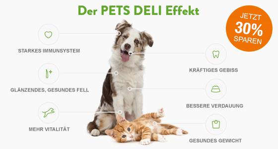 Gesunde Nahrung für Hunde und Katzen zum Probierpreis | 30% de réduction sur le Pack Découverte*